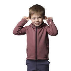 Houdini Power Houdi Jacket Kids rasberry rush red